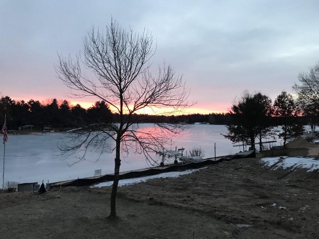 Lake-Camelot-Winter-Sunset